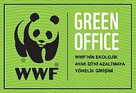 Green Office, yeşil ofis, logo, panda, green / ©: WWF-Türkiye